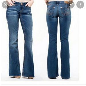 Seven7 low-rise flare, size 26